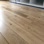 Refurbishment sand and seal of a floor at Golborne Road shop